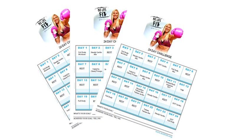 Elaina's Do Life Fit Calendar